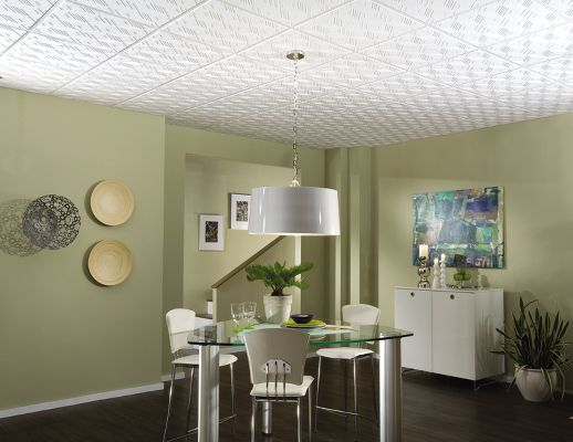 Tango Homestyle Ceilings Patterned Paintable 2 X 2 Panel