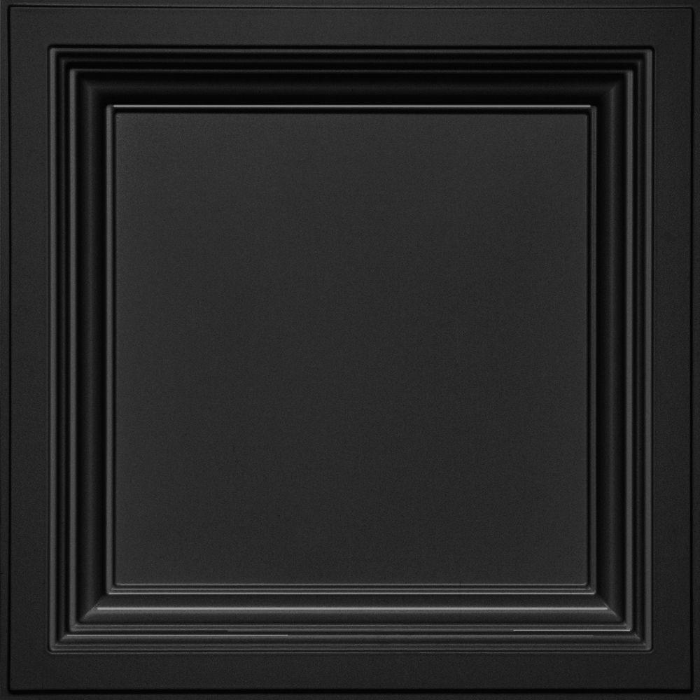 Deep Coffer Black Easy Elegance Coffered Black 2 X 2