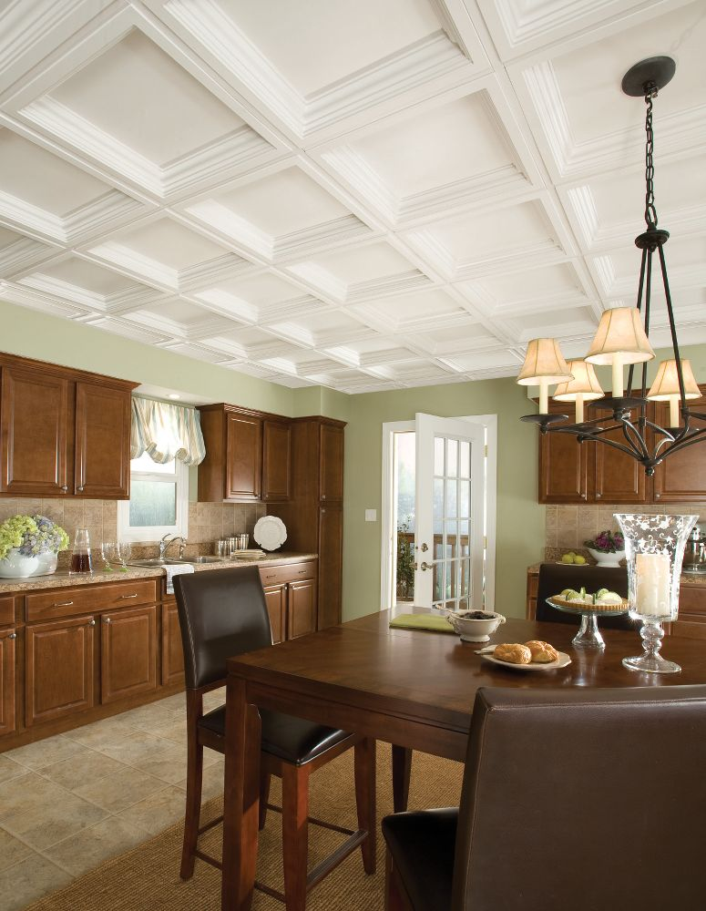 Easy Elegance Coffer Easy Elegance Coffered Paintable 2 X