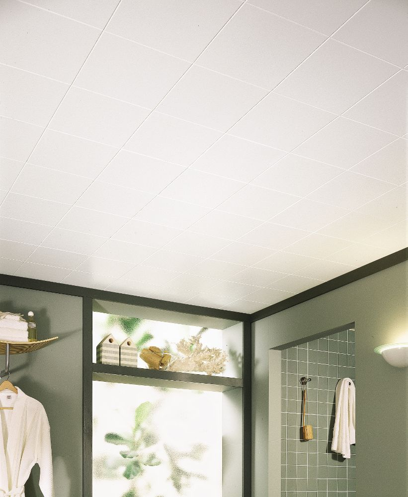 Washable White Homestyle Ceilings Smooth Paintable 12 Quot X