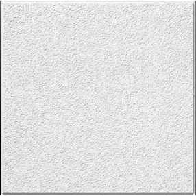 Brighton Textured White 2' x 2' Panel #266