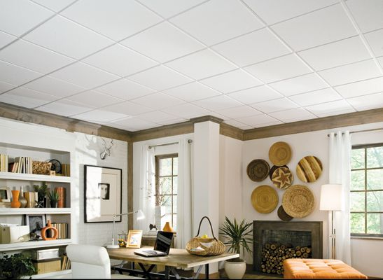 Sahara Homestyle Ceilings Smooth Paintable 2 39 X 2 39 Panel
