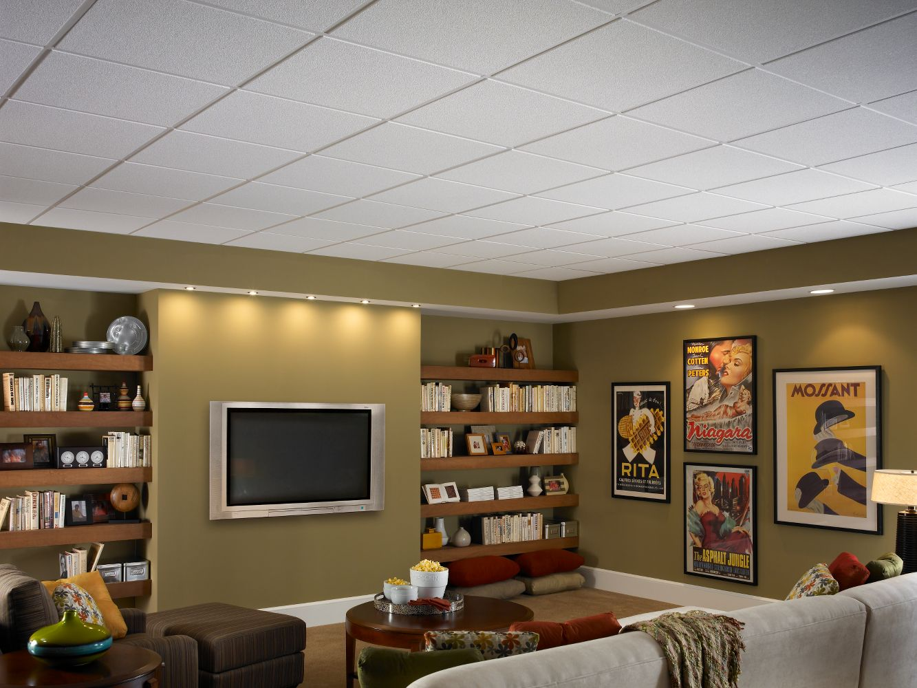 Oasis HomeStyle Ceilings Smooth Paintable 2 X Panel