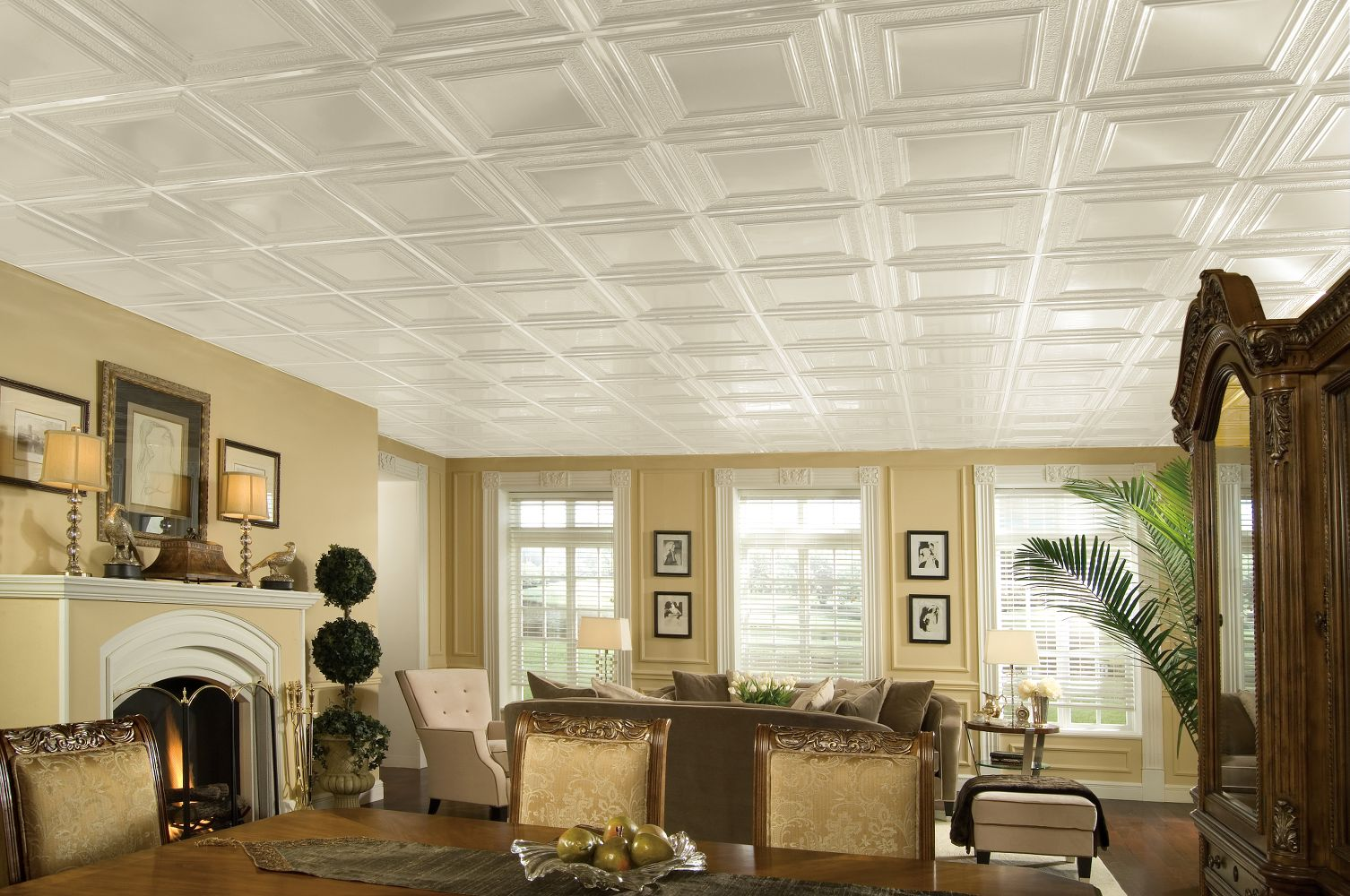 Dropped Ceiling Kitchen Benefits Of Installing A Suspended Ceiling