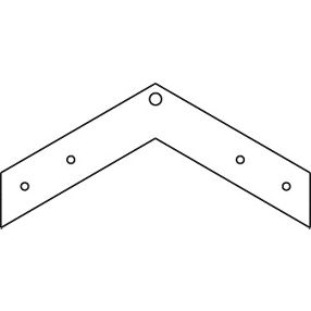 60 Degree Unpainted Drywall Angle Clips #DW60CAGR