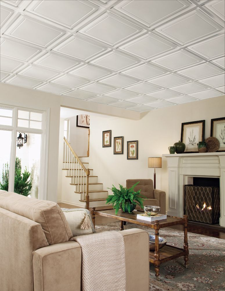 Easy Elegance Easy Elegance Coffered Paintable 2 X 2