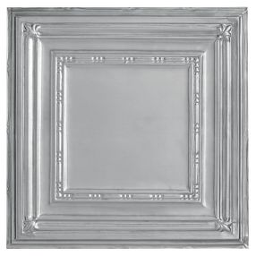 Metallaire Bead Tin/Metal Metallic 2' x 4' Panel #5424504NLS