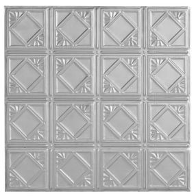 Metallaire Fans Tin/Metal Metallic 2' x 4' Panel #5424207NLS