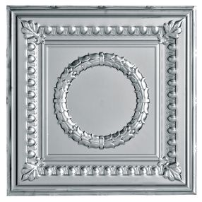 Metallaire Wreath Tin/Metal Metallic 2' x 4' Panel #5424503NAM