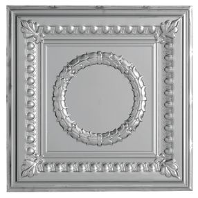 Metallaire Wreath Tin/Metal Metallic 2' x 4' Panel #5424503NLS