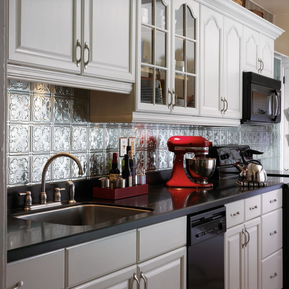tin backsplash ideas from armstrong,Tin Backsplash For Kitchen,Kitchen ideas