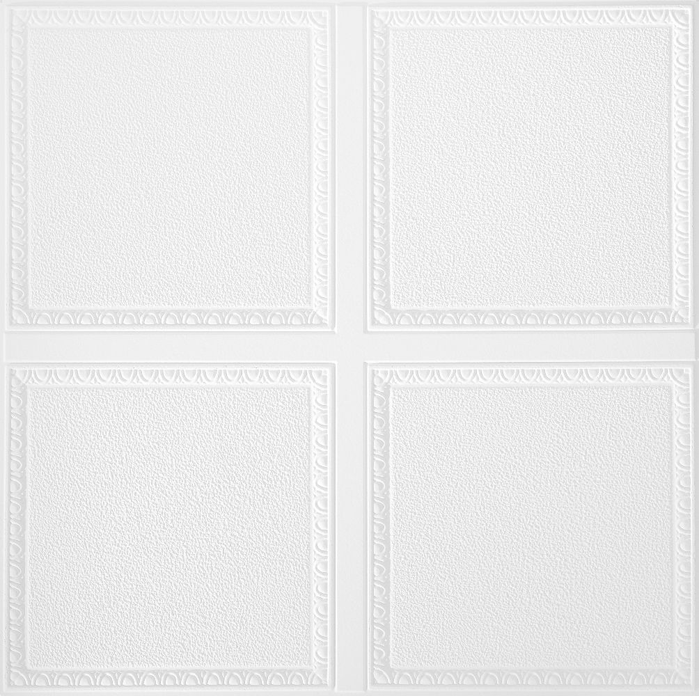 Scalloped Homestyle Ceilings Patterned Paintable 2 X 2