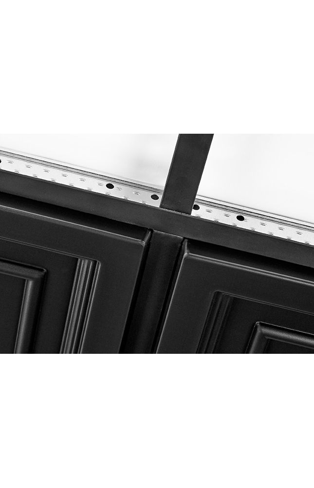 Shallow Coffer Black Easy Elegance Coffered Black 2u0026#39; x 2u0026#39; Panel 1282BLBXA by Armstrong