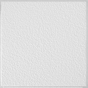 "Sand Pebble Textured White 12"" x 12"" Tile #257"