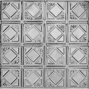 Metallaire Fans Tin/Metal Metallic 2' x 2' Panel #5422207LLS