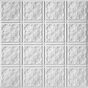 Metallaire Vine Estaño/Metal Metallic 2' x 2' Panele #5422210LWH