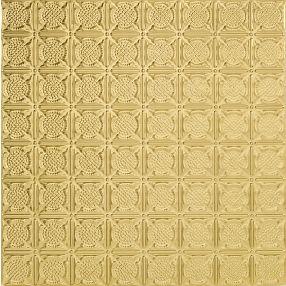 Metallaire Medallion Tin/Metal Metallic 2' x 4' Panel #5424234NAR
