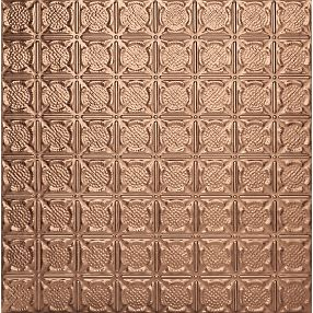 Metallaire Medallion Tin/Metal Metallic 2' x 4' Panel #5424234NCP