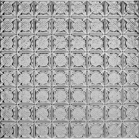 Metallaire Medallion Estaño/Metal Metallic 2' x 2' Panele #5422234LLS