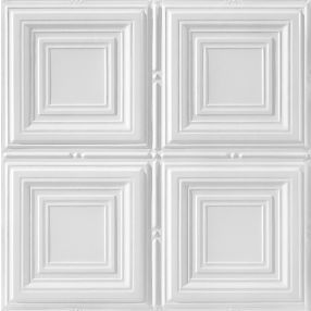 Metallaire Medium Panels Estaño/Metal Metallic 2' x 2' Panele #5422320LWH