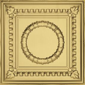 Metallaire Wreath Tin/Metal Metallic 2' x 4' Panel #5424503NAR