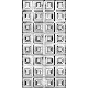 Paneles pequeños Metallaire Estaño/Metal Metallic 2' x 4' Panele #5424204NAM