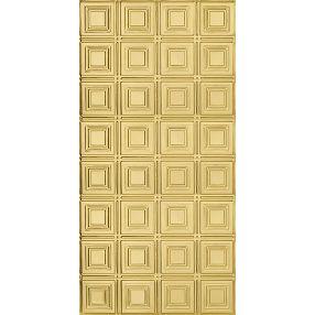Paneles pequeños Metallaire Estaño/Metal Metallic 2' x 4' Panele #5424204NAR