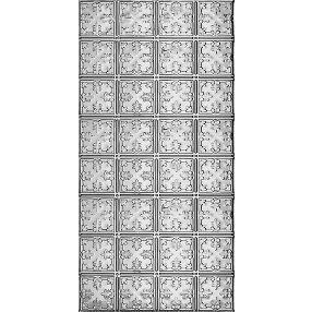 Metallaire Vine Estaño/Metal Metallic 2' x 4' Panele #5424210NAM