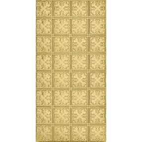 Metallaire Vine Estaño/Metal Metallic 2' x 4' Panele #5424210NAR