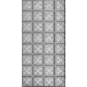 Metallaire Vine Estaño/Metal Metallic 2' x 4' Panele #5424210NLS