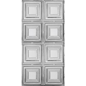 Plafones medianos Metallaire Estaño/Metal Metallic 2' x 4' Panele #5424320NAM