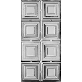 Metallaire Medium Panels Estaño/Metal Metallic 2' x 4' Panele #5424320NLS