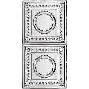 Metallaire Wreath Estaño/Metal Metallic 2' x 4' Panele #5424503NAM