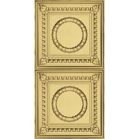 Metallaire Wreath Estaño/Metal Metallic 2' x 4' Panele #5424503NAR