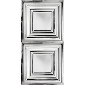 Plafón grande Metallaire Estaño/Metal Metallic 2' x 4' Panele #5424505NAM