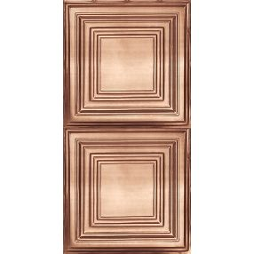 Metallaire Large Panel Estaño/Metal Metallic 2' x 4' Panele #5424505NCP