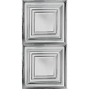 Plafón grande Metallaire Estaño/Metal Metallic 2' x 4' Panele #5424505NLS