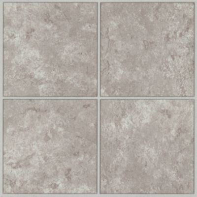 Columbia Court - White Taupe Vinyl Tile 21640