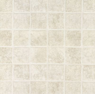 French Paver - White Vinyl Sheet 62960