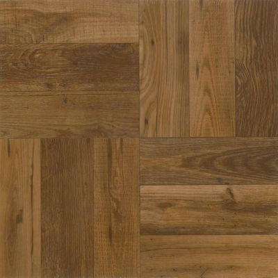 Rustic Wood - Russet Vinyl Tile A4225