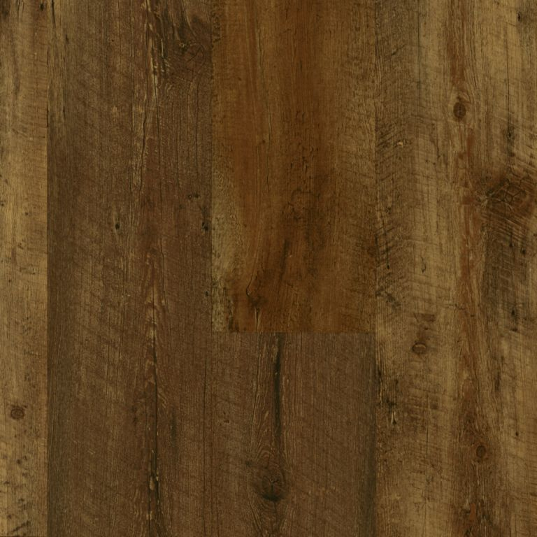 Farmhouse Plank - Rugged Brown Luxury Vinyl A6715