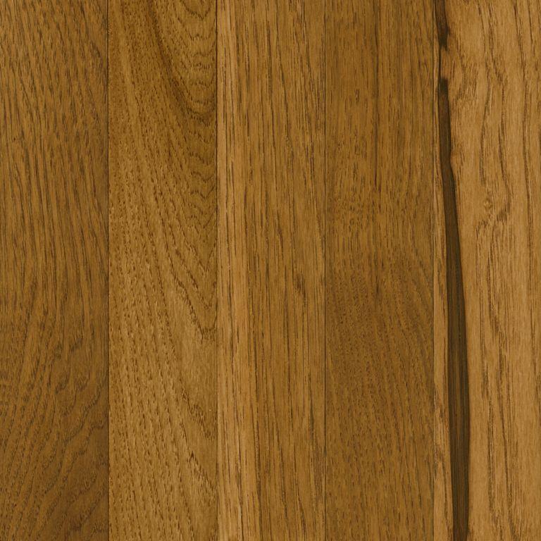 Solid hickory hardwood floors