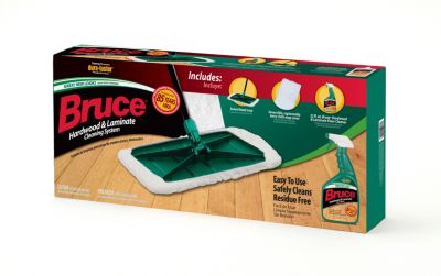 Elegant Bruce Hardwood U0026 Laminate Cleaning System (with Terry Cloth Mop Cover)    CKS01