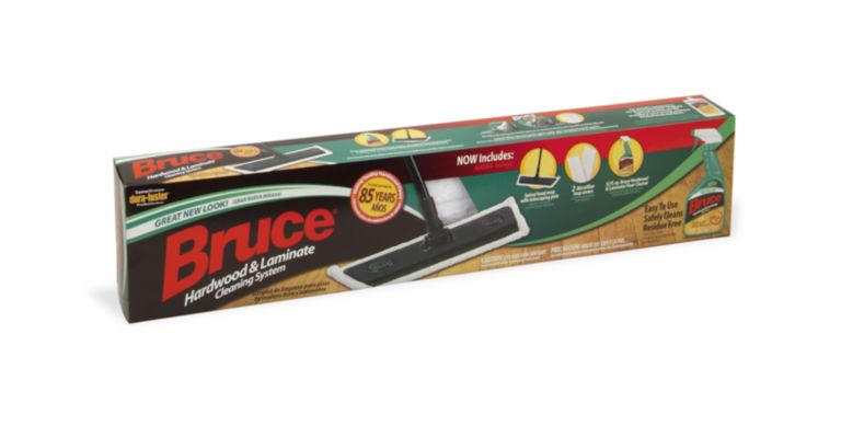 Bruce Hardwood Amp Laminate Cleaning System With Microfiber