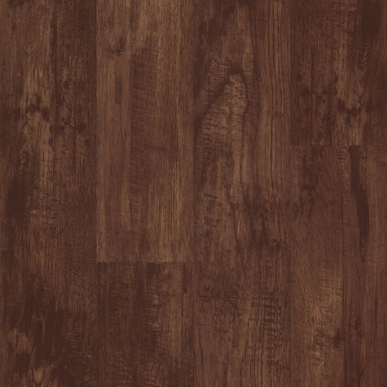 Hickory - Rustic Brown Vinyl Tile D1023