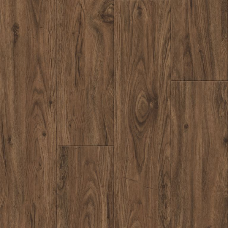 Medium Walnut - Brown Vinyl Tile D1035