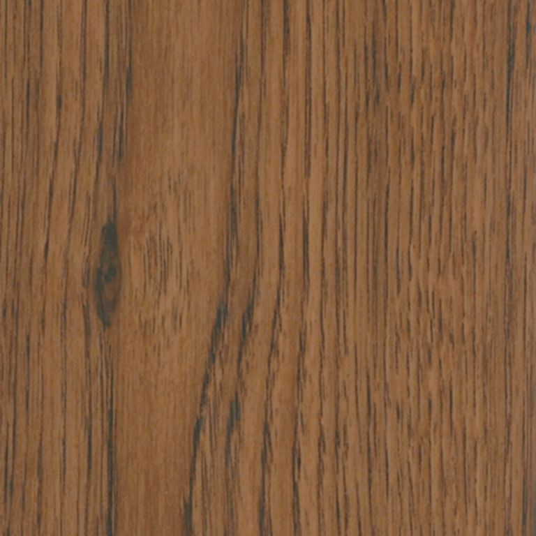 Planks - Russet Hickory Hand-Scraped Visual Vinyl Tile D2426