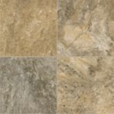 Classico Travertine - Cameo Brown/Gray Luxury Vinyl D4312