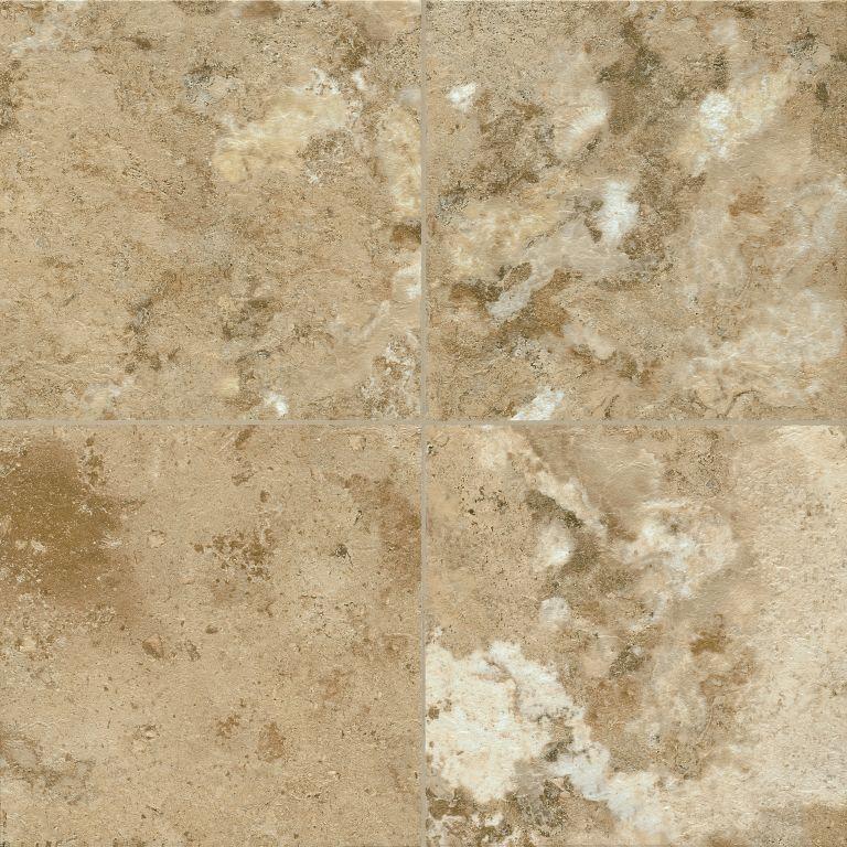 Athenian Travertine - Provincial Bisque Luxury Vinyl D4342