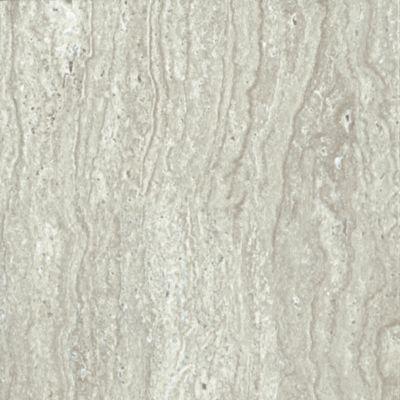 Exceptional Aegean Travertine   Gray Mist Luxury Vinyl 7F126
